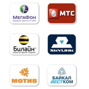 Операторы сотовой связи Заречного